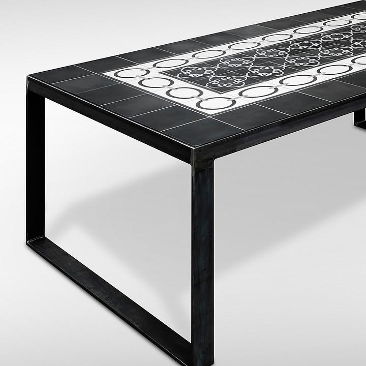 Fliesenm bel tische s tile for Tisch marmoroptik